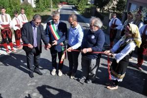 Ulica grada Pinerolo otvorena u Derventi.