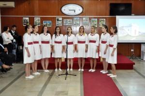 "Pjevačka grupa SKUD ""Derventa"", na svečanost povodom obilježavanja 120 godina od osnivanja vodovoda u Derventi."